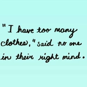 Thanks for checking out my closet!